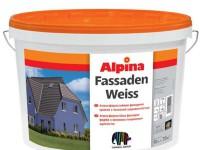Фасадна фарба Alpina FassadenWeiss